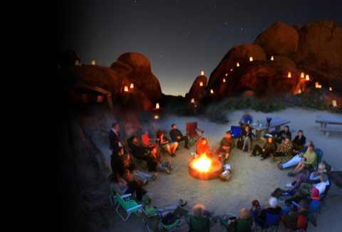 campfire w.luminarias